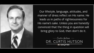 """Tony Hutson """"Compromise Virus"""" - IFB leaders join Billy Graham - Baptist history documentary archive"""