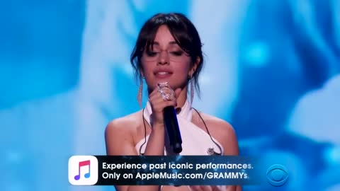 Camila Cabello's Dreamer Speech At Grammys