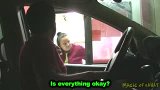 Video showing drive through prank goes viral - Video