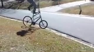 Homemade bike