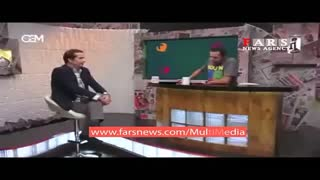 Ramsin Kebriti left the live TV show - Video