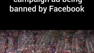 Trump AD blocked by Facebook