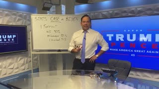 """STATS CASE AGAINST A BIDEN WIN"" - Steve Cortez Explains Statistics"