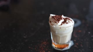 Tiramisu alcoholic shot recipe