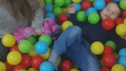 Playing litlle kids