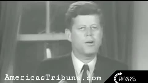 John F. Kennedy sounded an aweful lot like TRUMP