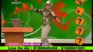 Bijan Banafshekhah dances on Live tV - Video
