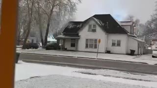 Winter Storm Causes Several Transformers to Blow