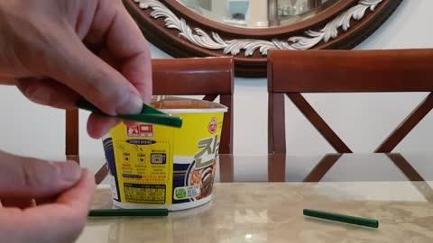 Life Hack How To Cook Instant Cup Noodles Faster With A Straw