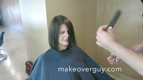 MAKEOVER: Long To Short and Nervous! by Christopher Hopkins, The Makeover Guy®