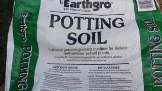 Earthgro Potting Soil - Buyer Beware - Video