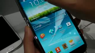 Live Demo Galaxy Note II - Video