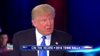 Trump: I am pro-life, period - Video