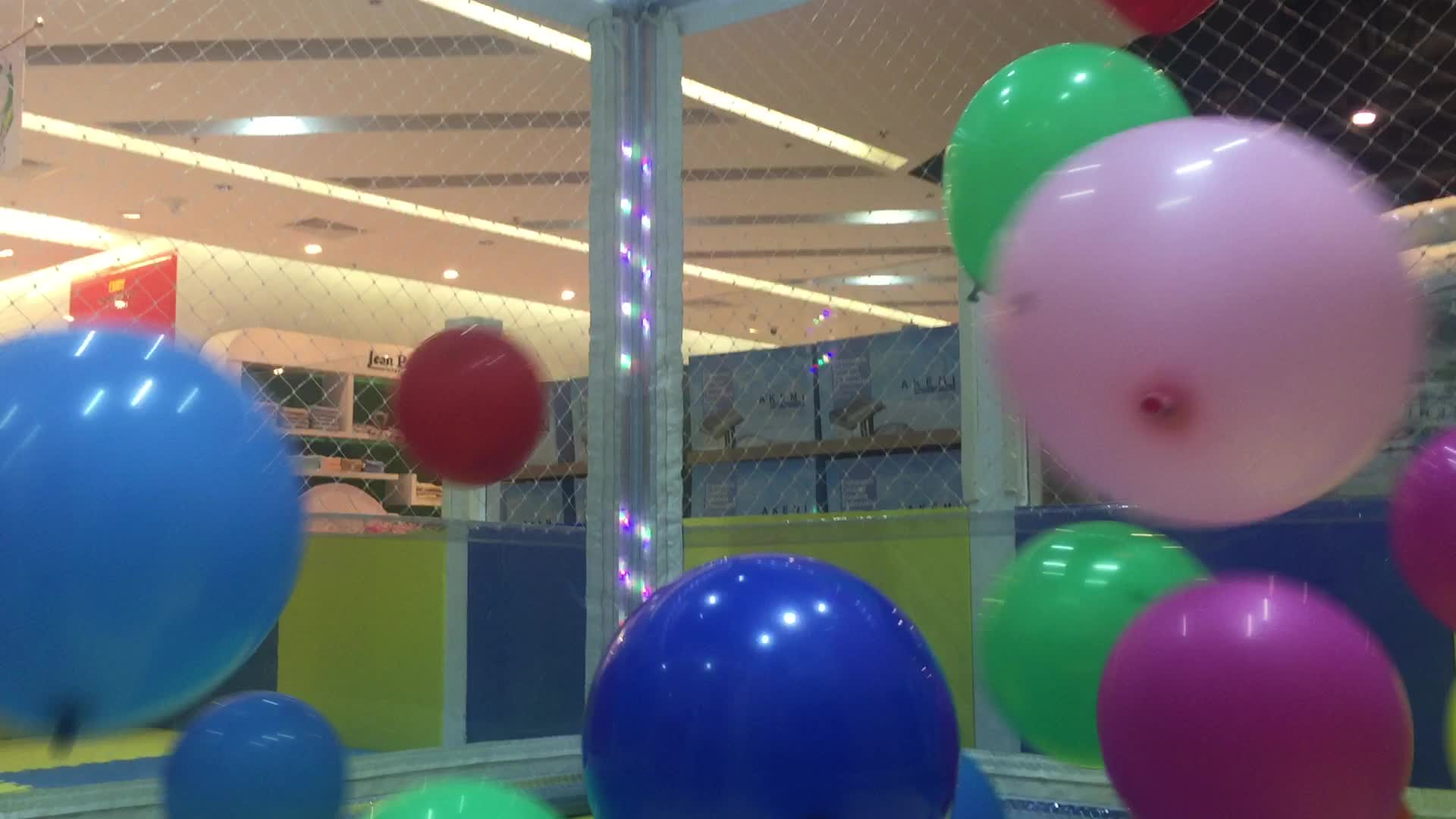 Balloon Pop Surprise Toys Challenge Giant Ball Pit In Huge