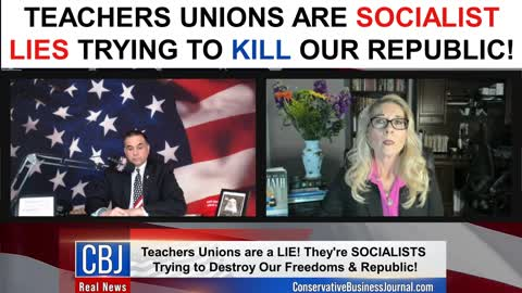 Teachers Unions are Socialist Lies Trying To Kill Our Republic!