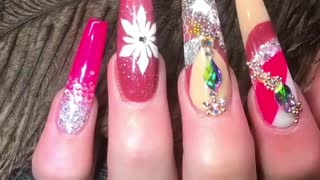 beautiful nails  - Video