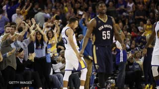 Steph Curry Drains 13 3s, Lights Up Pelicans