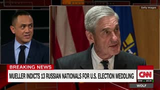 Mueller Announces 13 Indictments - Video