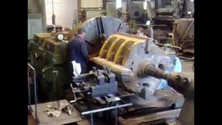 biggest lathe on  -  heavy engineering  - Video
