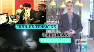 Fake videos about Iran-US tensions