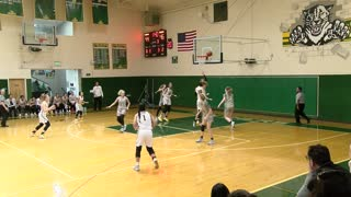 Pinewood girls basketball, vs Miramonte, Feb 15, 2020