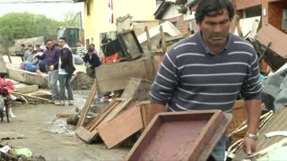 Rebuilding begins after Chile quake, tsunami