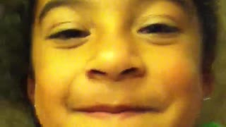 Young Girl Loses Tooth By Blowing A Kiss - Video