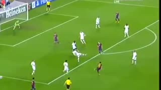 Messi unreal goal vs Milan - Video