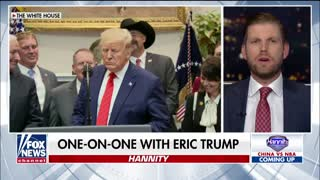 Eric Trump talking about Biden corruption