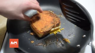 In all my years of making grilled cheese I can't believe I never thought to try THIS - Video