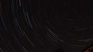 Star Trails Time Lapse - Video