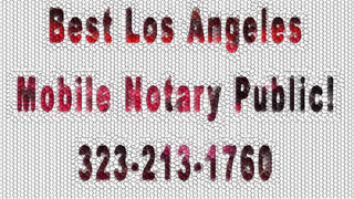 Pasadena Mobile Notary Public - Video