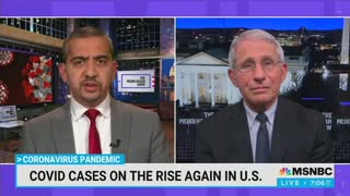 Fauci Says Vaccinated Americans Still Can't Eat Or Drink Indoors