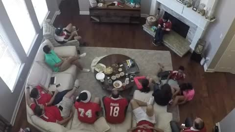 Great fans move of egypt world cup russia match salah goal camera