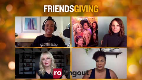 Aisha Tyler discusses holiday mishaps in the season film Friendsgiving