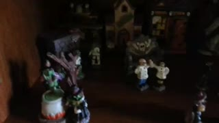 Halloween village collection