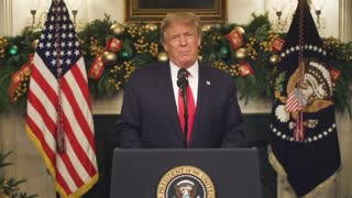 Special Message From President Trump December 22nd video