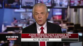Peter Navarro says there is a 'special place in hell' for Canadian PM - Video