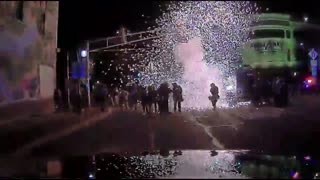 Colorado police arrest man who threw explosives at officers during a George Floyd protest