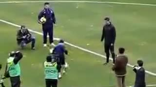 Cristiano Ronaldo humiliated by little boy - Video