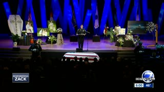 Douglas Co. Deputy Zackari Parrish tried to help his killer until he died, sheriff says at funeral