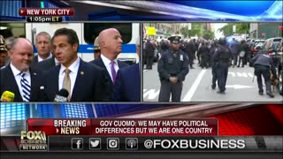 Andrew Cuomo claims his office received an explosive device