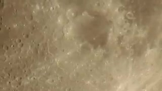 Upclose with the Moon  - Video