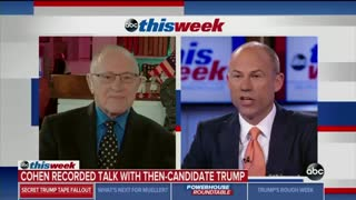 Michael Avenatti refuses to answer damning question from Alan Dershowitz about Trump tapes - Video