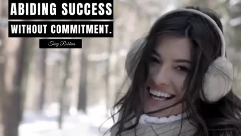 There's No Abiding Success Without Commitment