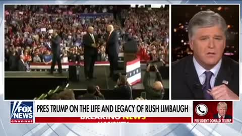 President Trump on his relationship with Rush Limbaugh