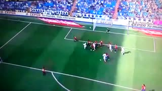 Sergio Ramos great header goal vs Osasuna - Video