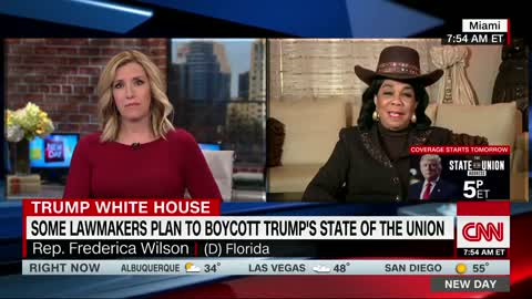 Rep. Frederica Wilson to Skip State of the Union: 'I Don't Think He Deserves to Be Honored'