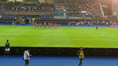 Morocco Players Pre Match Warm Up AFCON 2019