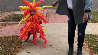 Cute Mom and Son Art Inspired Halloween Costumes